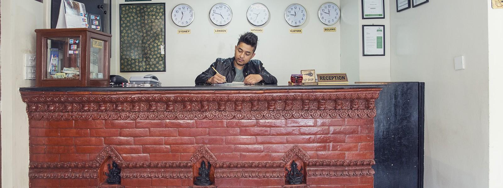 Homepage — Backyard Hotel, Thamel, Kathmandu, Nepal
